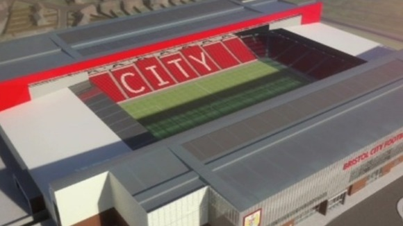 Bristol City Stadium Seating Plan Bristol City fc Stadium Plans