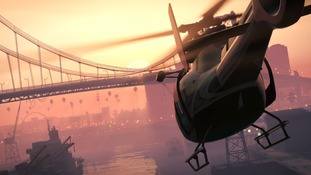 Helicopter in Grand Theft Auto V