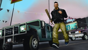 Scene from grand Theft Auto III