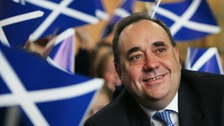 SNP First Minister Alex Salmond