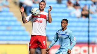 Stevenage striker Marcus Haber has left the club to join Notts County on a three-month emergency loan