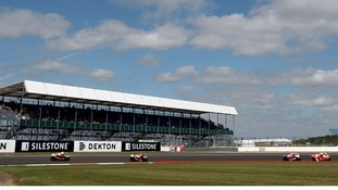 Silverstone in Northamptonshire.