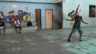 The dance craze that is helping keep Rio's slums clean