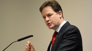 Deputy Prime Minister Nick Clegg will address a Liberal Democrat rally in Glasgow today.