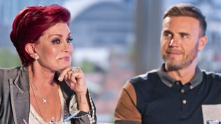 Sharon Osbourne's cries during tonight's show.
