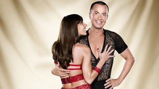 Contestants Janette Manrara and Julien Macdonald.