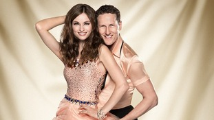 Contestants Sophie Ellis-Bexter and Brendan Cole.