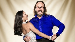 Contestants Karen Hauer and Dave Myers.