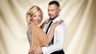 Contestants Deborah Meaden and Robin Windsor.