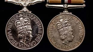 "Medals stolen from a ""brave soldier"""
