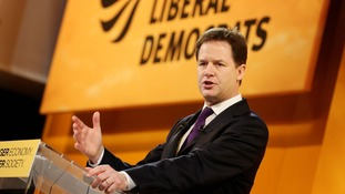 Deputy Prime Minister and leader of the Liberal Democrats Nick Clegg.