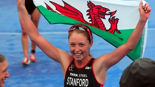 Non Stanford with Welsh flag