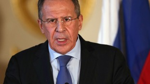 Foreign Minister of the Russian Federation, Sergei Lavrov.