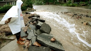 The floodwaters in Boulder, Colorado, are continuing to rise.