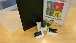 Leicestershire Police offer this toolbox to victims of domestic violence
