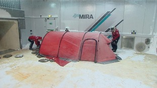 The prince will practice making and breaking camp in the extreme conditions ahead of his South Pole expedition.