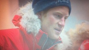 Prince Harry told reporters the chamber had been 'cold.'