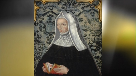 King Henry VIII's grandmother, Margaret Beaufort,