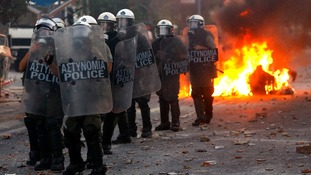 Clashes in Athens after stabbing of activist