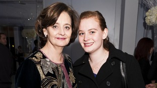 Kathryn Blair pictured with her mother Cherie was held at gunpoint.
