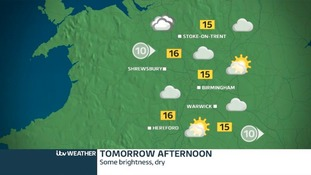 Dry with bright spells