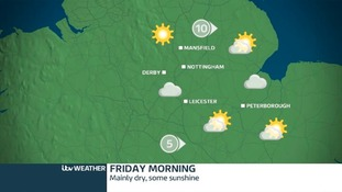 Cloudy, dry, with sunny spells