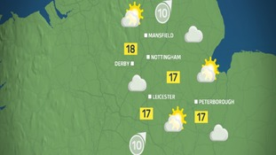 Bright spells and dry