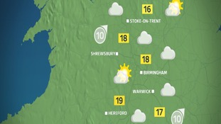 Sunny spells and dry