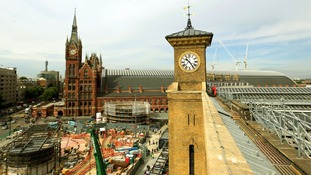 London King's Cross and St Pancras International stations.