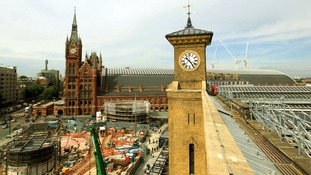 London King's Cross Station and St Pancras International.