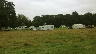 Travellers on Tooting Common.