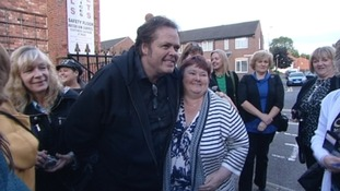 Jimmy Osmond in Darlington
