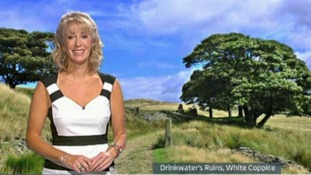 Emma Jesson in front of viewer picture