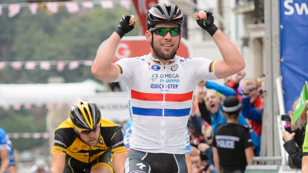 Mark Cavendish Wins Heat In Tour Of Britain London Itv