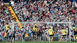 West Brom 3 - 0 Sunderland