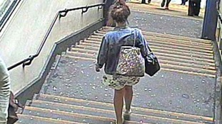 A CCTV image released by police of Esme Police near Charing Cross station