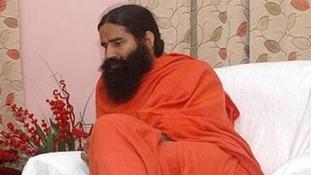 Swami Ramdevji, aka Baba Ramdev, in 2010