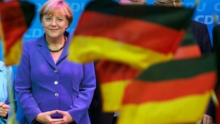 Angela Merkel wins German election.