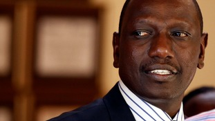 Kenyan deputy president William Ruto faces charges of crimes against humanity