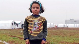 Syrian child refugee