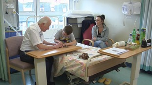 Skip making paper aeroplanes at Stepping Hill hospital