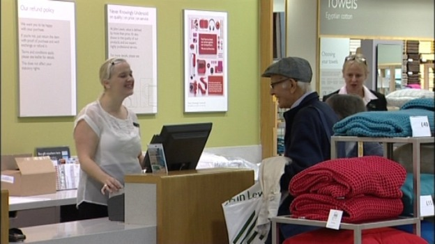 christmas jobs up for grabs at john lewis central itv news