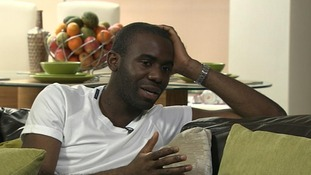 Fabrice Muamba told ITV1's Adrian Chiles how grateful he was to be alive