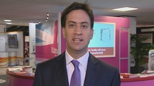 Labour leader Ed Miliband on Daybreak.