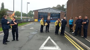 The Shrewsbury picket line