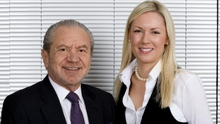 Alan Sugar and Stella English