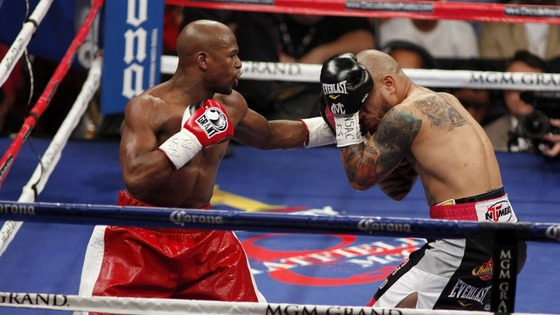Mayweather Cotto