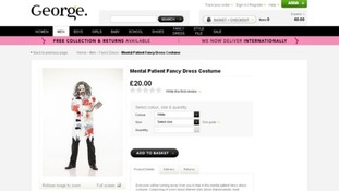 Controversial Asda fancy dress costume