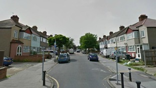 Police were called to a a property in Ockley Road, Croydon