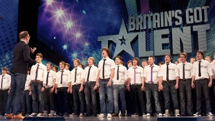 Welsh choir Boys Aloud